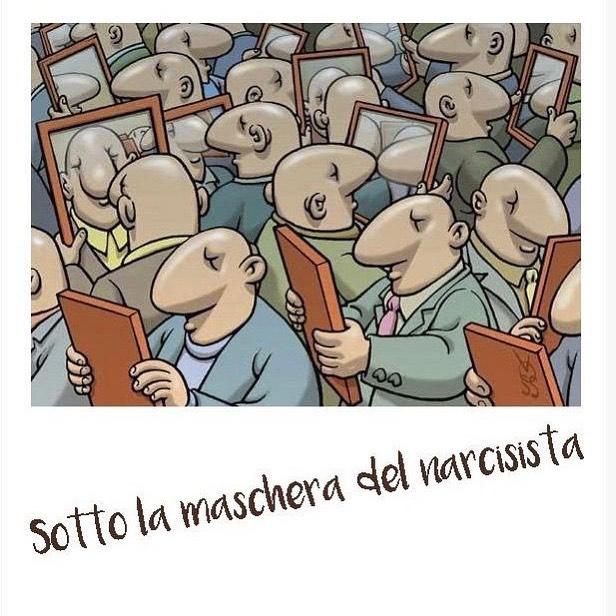 Sotto la maschera del narcisista
